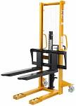 """2200 lbs Capacity Manual Stacker - 63"""" Lift thumb"""