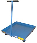 Wesco Drum Dolly with Handle and Drain Plug