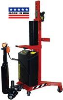 Wesco Ergonomic Power Lift and Drive Drum Stacker thumb