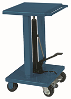 Wesco 1000 lb Hydraulic Lift Table with Foot Pump thumb