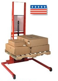 Wide Straddle Manual Fork Lift Truck thumb