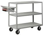 3 Heavy Duty Flush Shelf Cart - 3600 lbs Capacity thumb
