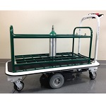 32 Medical Gas Cylinder Motorized Cart