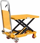 "330 lbs Capacity Manual Single Scissor Lift Table - 29"" Lift thumb"