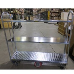 2 or 3 Shelf U-boat Platform Cart
