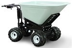 4 Wheel Power Drive and Dump Wheel Barrow - 10 Cubic Foot
