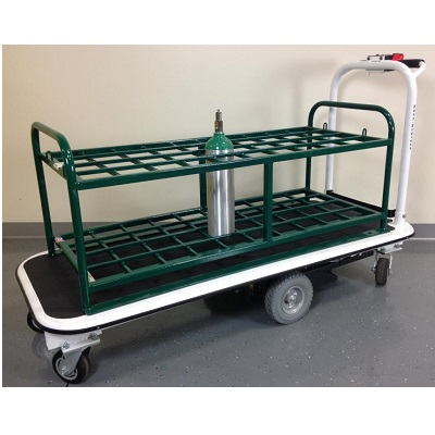 40 Medical Gas Cylinder Motorized Cart thumb