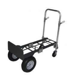 "Aluminum & Steel Convertible Hand Truck With 13"" Pneumatics"