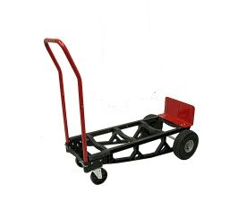Milwaukee Plastic Lightweight Convertible Hand Truck