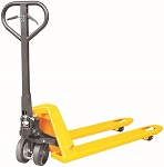 "5500lbs Manual Pallet Jack with Brakes - 27"" x 48""  thumb"