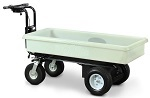 6 Cubic Ft. Tray Electric Power Cart  thumb