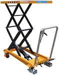 770 lbs Capacity Manual Steel Double Scissor Lift Table thumb