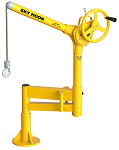 "Sky Hook 42"" Portable Jib Steel Crane With Articulating Arm thumb"