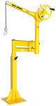 "Sky Hook 64"" Floor Mount Portable Jib Steel Crane With Articulating Arm thumb"