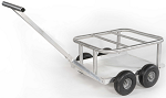 Aluminum Scuba Tank Cart thumb