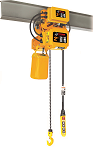 1 Ton Dual Speed Electric Chain Hoist with Electric Trolley thumb
