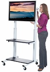 Hand Crank Adjustable Height Flat Panel Screen Mounts  thumb