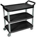 3 Shelf Food Service Cart - Large thumb