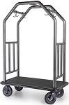 Stainless Steel Coastal Area Bellman Cart thumb