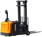 "Counter Balance Power Drive and Lift Stacker 130"" Lift 3300lb Capacity thumb"