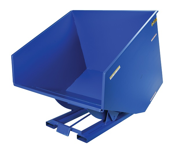 6000 lb Capacity Self-Dumping Steel Hoppers with Bumper Release thumb