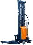 "Ekko Power Lift Straddle Stacker 138"" Lift 3300lb Capacity thumb"