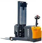 "Counterbalance Power Drive and Lift Stacker 216"" Lift 3300lb Capacity thumb"