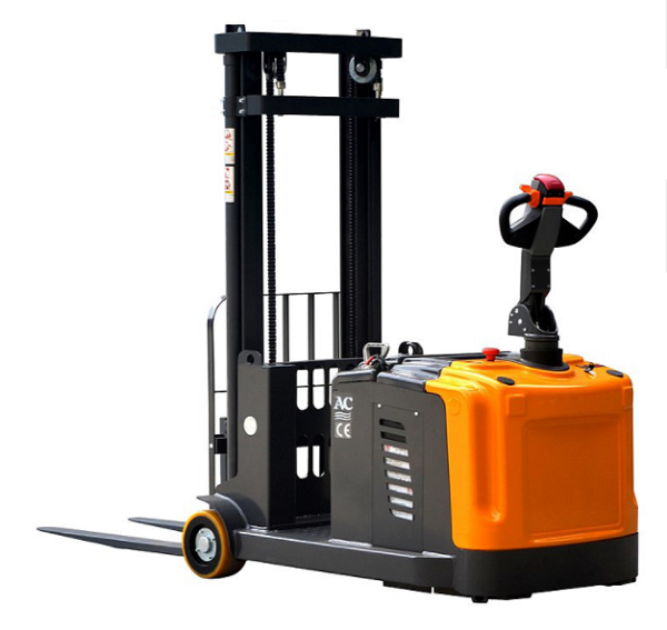 "Counter Balance Power Drive and Lift Stacker 118"" Lift 2860lb Capacity thumb"