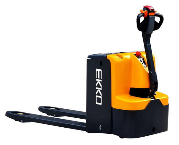 "4400lb EKKO Electric Walkie Pallet Jack 27"" x 48"" thumb"