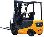 "Ekko Power Drive and Lift 4 Wheel Forklift 216"" Lift 4500lb Capacity thumb"