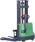 """Ekko Power Drive and Lift Straddle Stacker 98"""" Lift 2640lb Capacity with Lithium-Ion Battery thumb"""