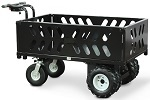 Electric Power Wagon Hopper with Removable Sides