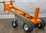 Electric-Powered Cement Ballast Hand Truck with Dual Ag Tires thumb