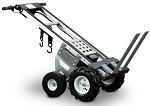 Electric Powered Aluminum Hand Truck with Adjustable Forks thumb