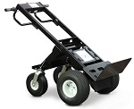 Electric Powered Transformer Hand Truck with Toe Plate