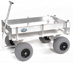 Extra Large Aluminum Beach and Fishing Cart thumb