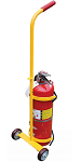 Fire Extinguisher Carrier Hand Truck thumb