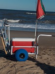 Little Mate Fishing Cart with Beach Tires thumb