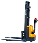 "Ekko Power Drive and Lift Stacker 138"" Lift 2640lb Capacity thumb"