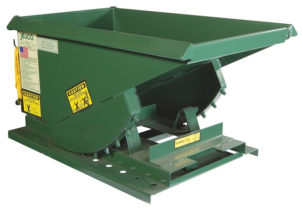 4000 lb Capacity Steel Welded Self-Dumping Hoppers thumb