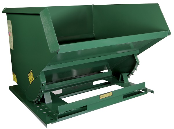 6000 lb Capacity Wide Steel Welded Self-Dumping Hoppers thumb