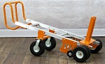 Heavy Duty 6-Wheeler Cement Ballast Hand Truck with Foot Plate thumb