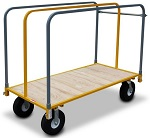 "Heavy Duty Steel Panel Cart with 10"" Wheels thumb"