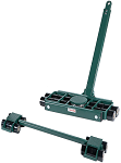 Hilman 3 Point Tri-Glide Roller System - 40 Ton thumb