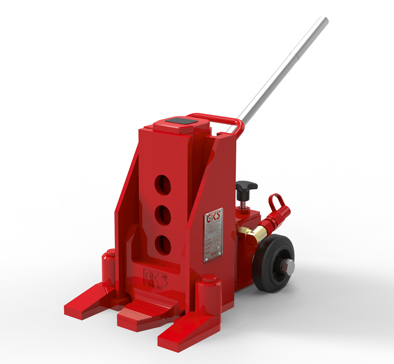 11 Ton Toe Jack With Wheels thumb