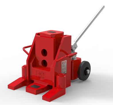 22 Ton Toe Jack With Wheels thumb