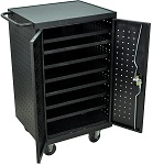 12 Laptop / Chromebook Charging Cart Station thumb