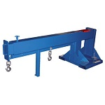 Vestil Telecoping Jib Boom Crane Forklift Attachment 8000lb Capacity