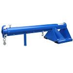 Vestil Telescoping Jib Boom Crane Forklift Attachment 3000lb Capacity