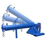 Vestil Pivoting Forklift Jib Boom Crane 3000lb Capacity